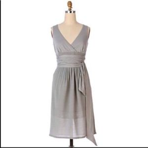 Anthropologie Fei Ethereal dress grey 8
